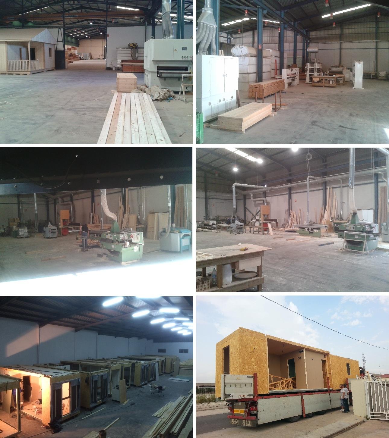 Casas de madera prefabricadas e industrializadas